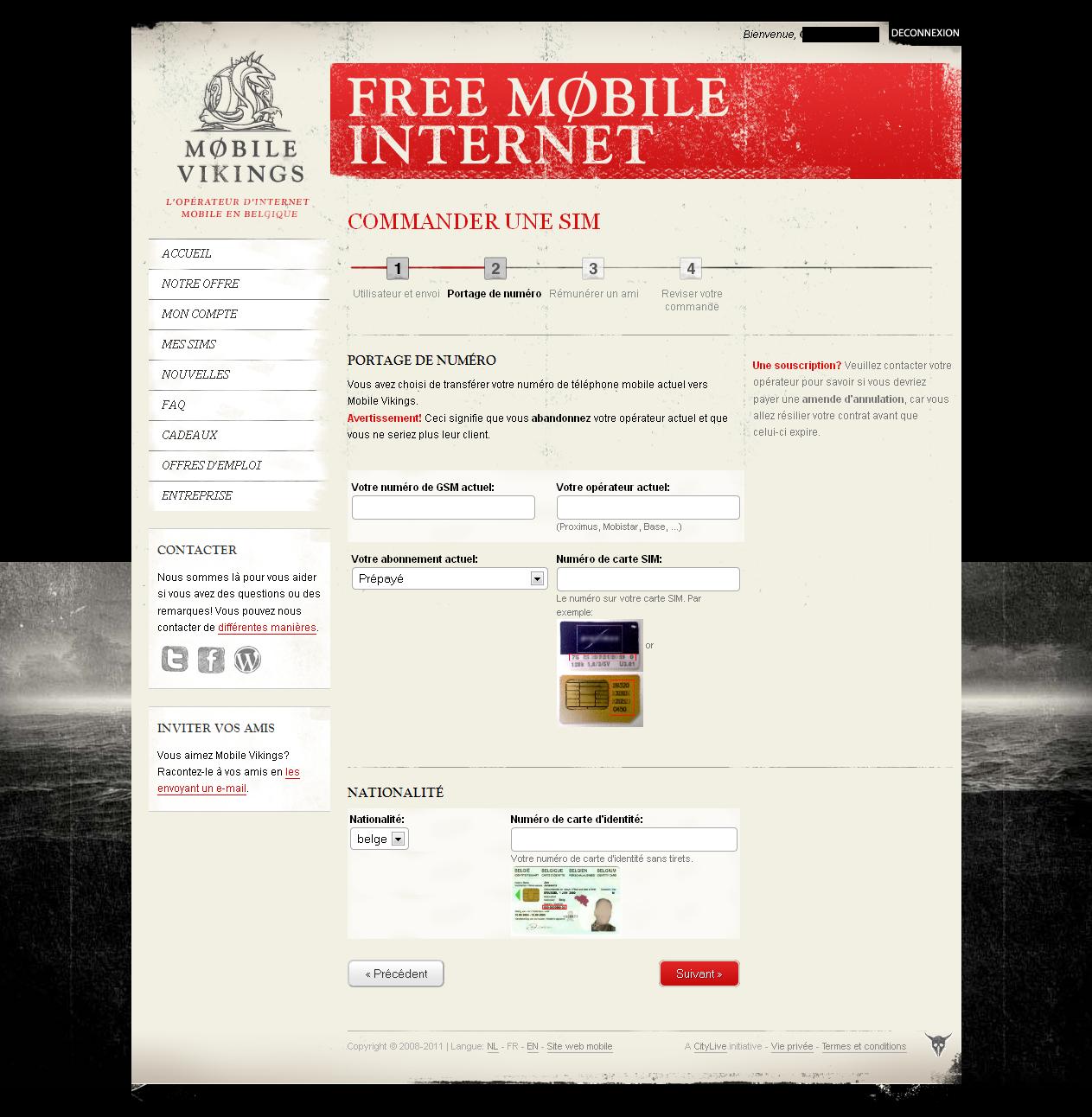 comment effectuer un transfert de num ro chez mobile vikings avis mobile vikings. Black Bedroom Furniture Sets. Home Design Ideas